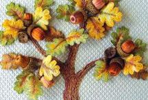 Crafts- Embroidery/Inspirational / No instruction per se, but the projects of artisans that inspire / by pc brown