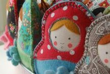 Babushka Dolls / by Julianne McKenna-De Lumen