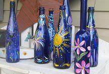 Crafty bottles & jars