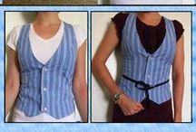 Crafty clothes - vests