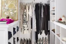 Chic storage solutions for clothes, shoes and accessories / stylish storage solutions for clothes, shoes and accessories  / by Want Her Style