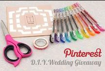 JetPens Wedding / Wedding inspiration and must haves for the DIY bride. / by JetPens
