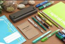 Environmentally Conscious / Every little bit we do to help protect Mother Earth is a step in the right direction, and this includes being aware of our pen and paper choices. There is an environmentally-conscious choice for nearly every stationery product!  / by JetPens