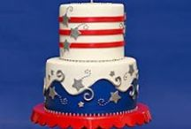 Cake- Military/Patriotic / Cakes that celebrate the country and our military / by pc brown