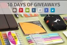 10 Days of Giveaways! / February marks JetPens' 10th anniversary! We want to thank all our friends for supporting us through the years, so let's celebrate with daily giveaways on all our social media sites! Please go to our blog to find out more: http://www.jetpens.com/blog/pen-perks-10-days-of-giveaways-back-to-school-edition/pt/791 / by JetPens