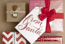 Christmas Gift Wrap / by Catherine Corbino-DiLeva