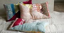 Cushions Pillows Ottomans Beanbags / All sorts of pillows, cushions, throw pillows, beanbags, pincushions, ottomans, etc