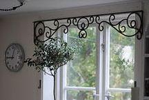 Window Treatments / Creative deas for window treatments