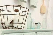 Bathroom Decor / Decor inspiration for the bath