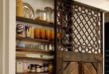 Pantry between the Studs / Ideas to build a space saving pantry between the studs - can't wait to tackle this project