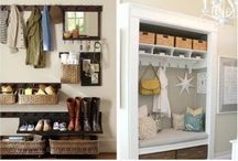 Mud Rooms / Ideas for a neat and organized mud room/entryway