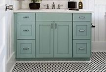 Bathrooms / by Button Bird Designs