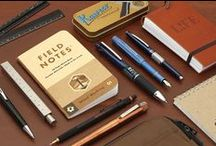 Father's Day /  If dear old dad is fond of fountain pens or crazy about everyday carry, browse some of our best stationery suggestions in this collection of Father's Day Gifts. Browse through to find rugged cases, durable metal pens, practical pocket notebooks, and more. Remember— Father's Day is on Sunday, June 19!
