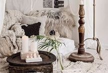 Boho Decor Inspiration / I LOVE funky, bohemian spaces with lots of texture and this board is a collection of my favorite boho decor inspirations and products. Maybe I'll even learn to macrame again?