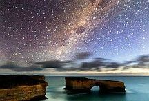 The heavens declare the glory of God, & the firmament shows His handiwork. -Psalm 19 / by Morgan Murphy