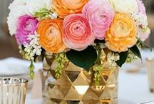 Wedding Centerpieces / Wedding centerpieces from short, clustered arrangements to towering table decor. Get DIY centerpiece ideas for your wedding centerpieces. / by Afloral Wedding Flowers and Decorations