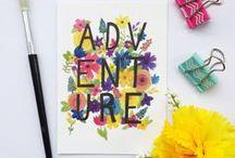 Sarah Frances Art / Original artwork by Sarah Frances. Watercolour paintings, typography and prints.