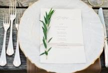 Weddings tabletop