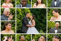 Wedding Picture Poses / wedding pictures, engagement pictures, bridesmaid pictures, funny, creative, backdrops / by Zumbatini