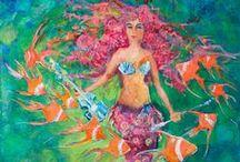 mermaids / by Glenda Hopkins