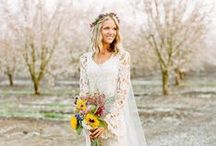 Bohemian Weddings / Inspiration for bohemian weddings and every boho bride to be.  Flower crowns, feathers and rich jewel tones are just a few ideas to awaken bohemian brides planning their bohemian weddings. / by Afloral Wedding Flowers and Decorations
