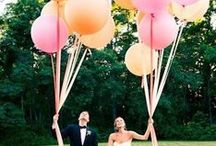 Balloons! / Get in on this years hottest trend in decorations!  These are not the balloons of your childhood birthday parties.  Designers are using balloons in new and creative ways and Afloral.com has some of the most popular balloons, including gold mylar letters and LED balloons.   Perfect for the DIY Bride on a budget.   / by Afloral Wedding Flowers and Decorations