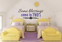 Twins' room prefs / by Leslie Loftis