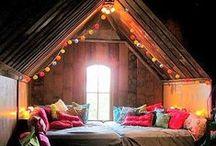 Attic / Home decor ideas and tips for the attic