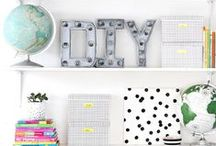 Office/Craft Space / Home decor ideas and tips for the office or studio