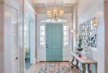 Hallway / Home decor ideas and tips for the hallway