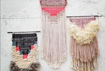 Wall Hangings /  #weaving #macrame #yarn