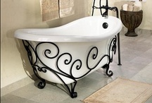 Home Stylin': Bathrooms / Furniture, paintings, and other things that make a room amazing!