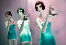store windows&instore decorations / by Karin Vriese