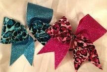 Cheer Bows + Clothes / Cheerleading is more than a sport; it's an attitude, it's a life style <3 / by Kayleigh Christine