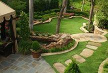 Naturalistic yard ideas