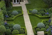 Formal yard ideas