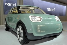 Kia Naimo / Kia Concept cars show the evolution of Kia's sleek design and innovative engineering. Unveiled at the 2011 Seoul Motor Show. This four suicide-door EV has a 80kW motor and a 27 kWh Lithium ion polymer battery pack, a combo that hustles you up to 93mph.