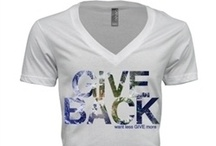GIVE BACK / by Melissa Ivey Wetherbee