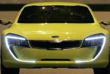 Kia Kee / Kia Concept cars show the evolution of Kia's sleek design and innovative engineering. The Kia Kee coupe concept is a compact, rear-driven, affordable production sports car, it was first revealed at the Frankfurt Motor Show in 2007. [edit]
