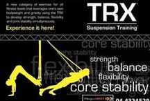 TRX Suspension Training / A category of exercise for all fitness levels that leverages one's own bodyweight and gravity using the TRX to develop strength, balance, flexibility and core stability simultaneously. / by Penn Recreation