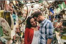 Engagement Shoots / Philadelphia's Magic Gardens is the perfect place to commemorate your engagement!  The glittering and colorful mosaics make for fantastic backdrops, and you're guaranteed to leave with amazing one-of-a-kind photos.  Use one of PMG's recommended photographers and receive 50% off our photo shoot fee! Contact Allison Boyle at events@phillymagicgardens.org for more information or to book your shoot!