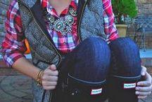 Denim, Plaid, Leather + Camo / by Kayleigh Christine