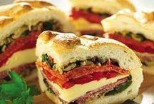 Savory Sandwiches/Calzones/Strombolis/Tacos and Wraps / by Linda Robertson McCowen (Linda R. Haney McCowen)