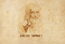 Drawings and other fantastic things