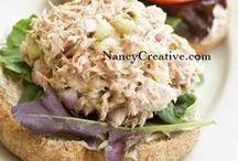 Pasta-Salads-Sandwich/Spreads / appetizer type bites, light meals salads cold-hot)&sandwitch's