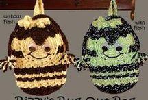 Crochet&Knit-sm. items-misc / knitting, small items, crochet