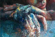 Inspiration, art & artists / Arte, inspiración, artistas