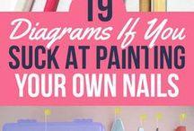 Beauty Tips, Nails & Hair Do's / nails, hair, beauty tips