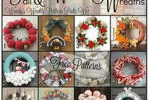 Wreaths For all Occasions / everyday to holiday wreaths
