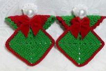 Christmas:Crochet,Craft-Deco / decorations,crochet items,misc
